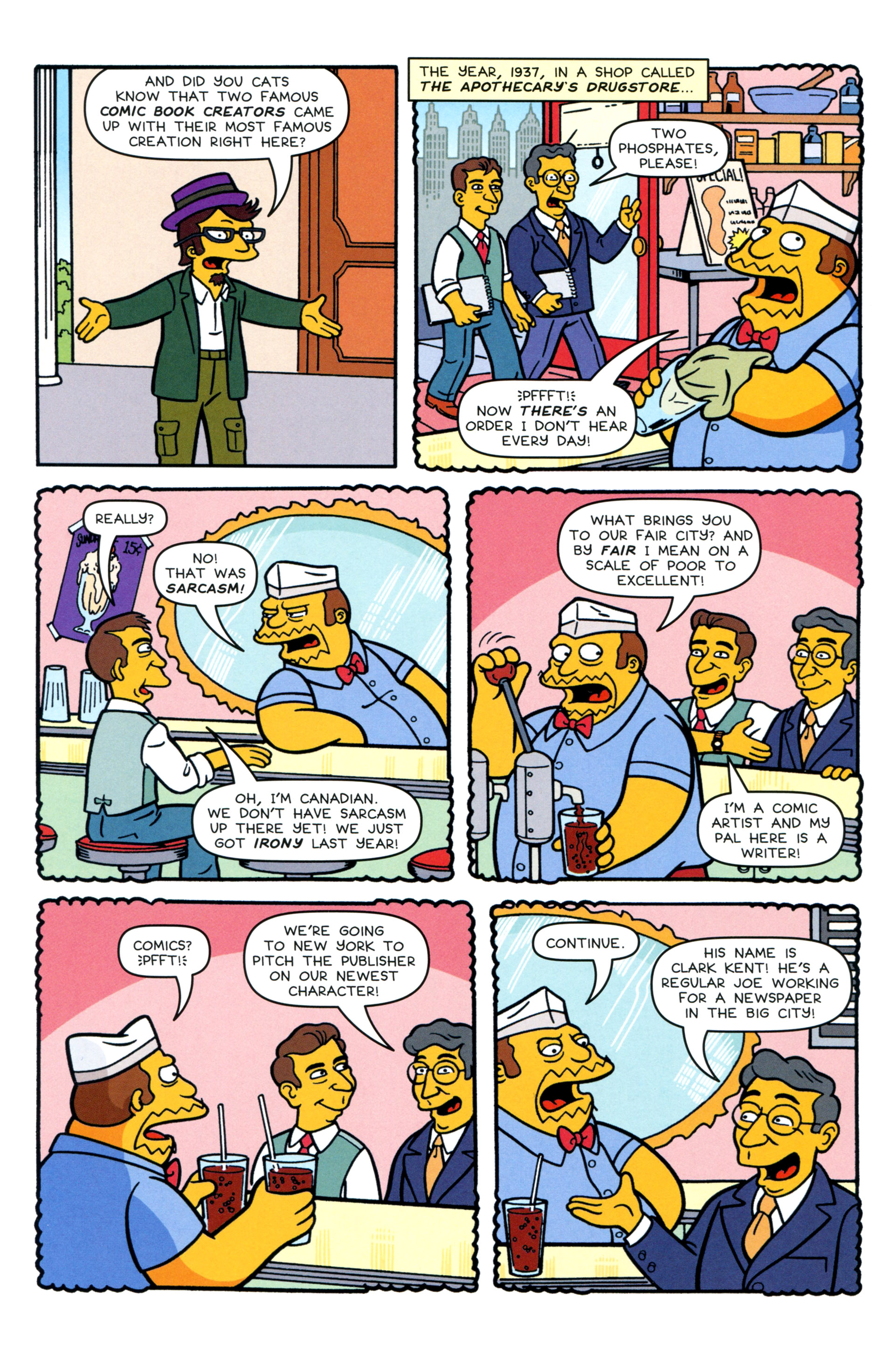 Read online Simpsons Comics comic -  Issue #200 - 24