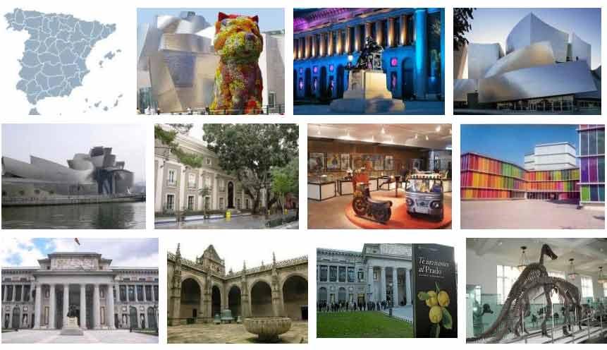 Resultado de imagen de fotos de museos de españa