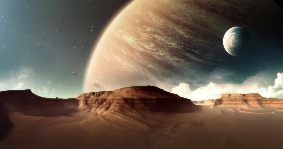 Hunt for Alien Earths: Extrasolar Planet Art Gallery