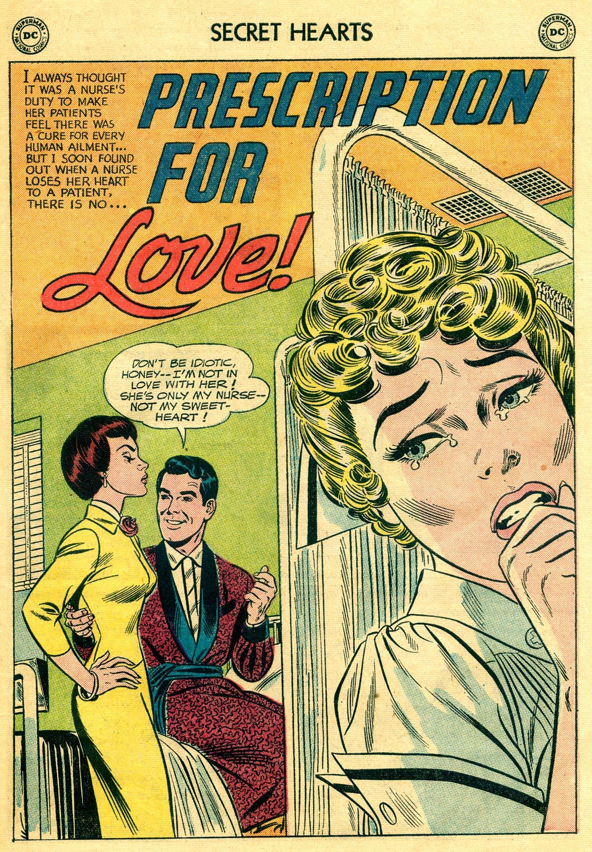 Read online Secret Hearts comic -  Issue #81 - 27