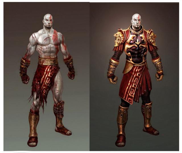 Game Set Bloggity: Kratos in Mortal Kombat 9