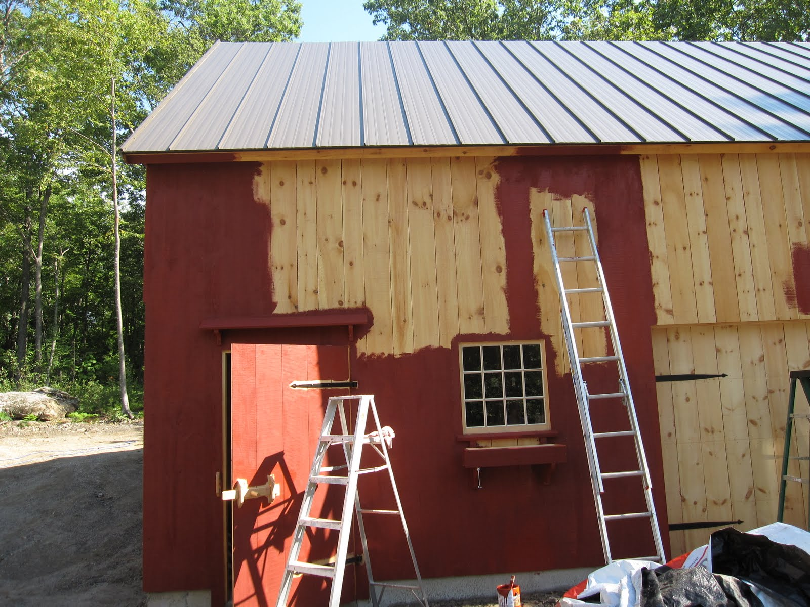 Building A House In Kent Red Barn