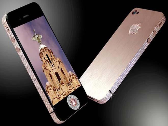 Expenzive it is Stuart Hughes iPhone 4 Diamond Rose