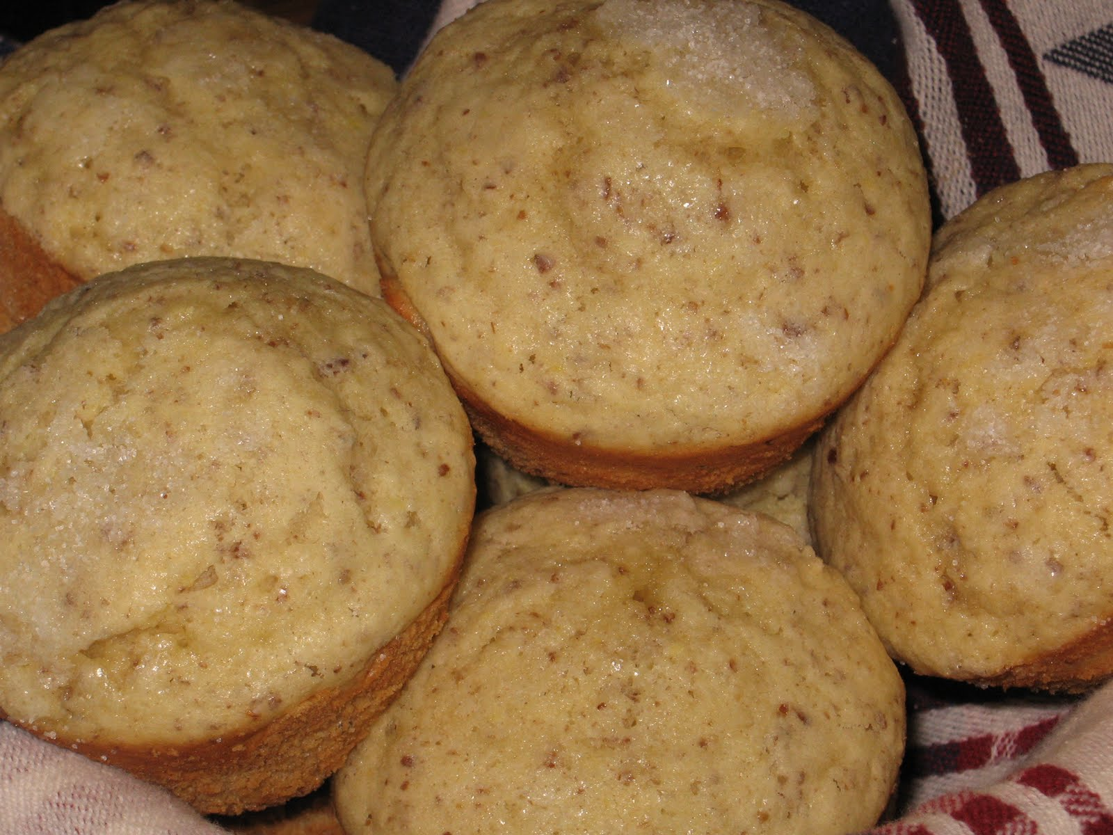 Rumble In The Kitchen Lemon Flax Seed Muffins Breakfast