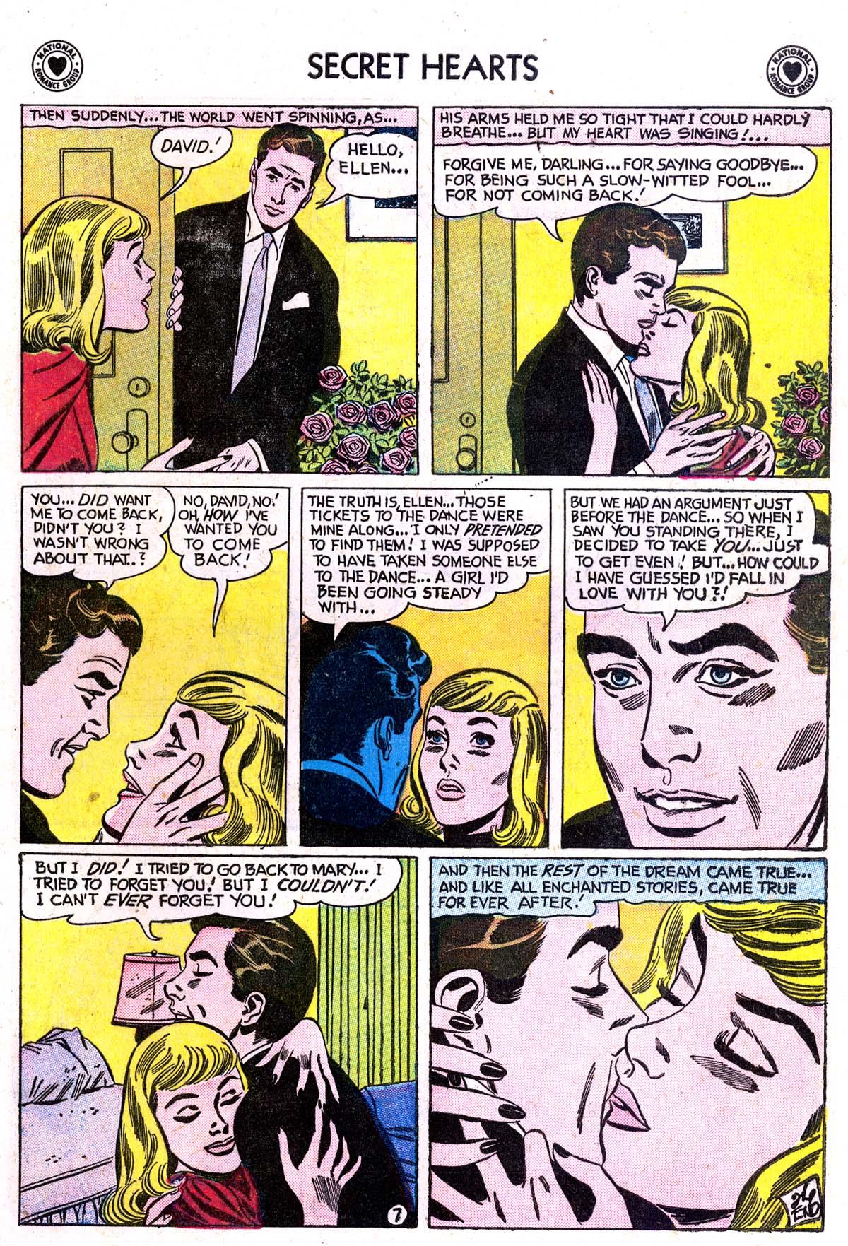 Read online Secret Hearts comic -  Issue #42 - 9