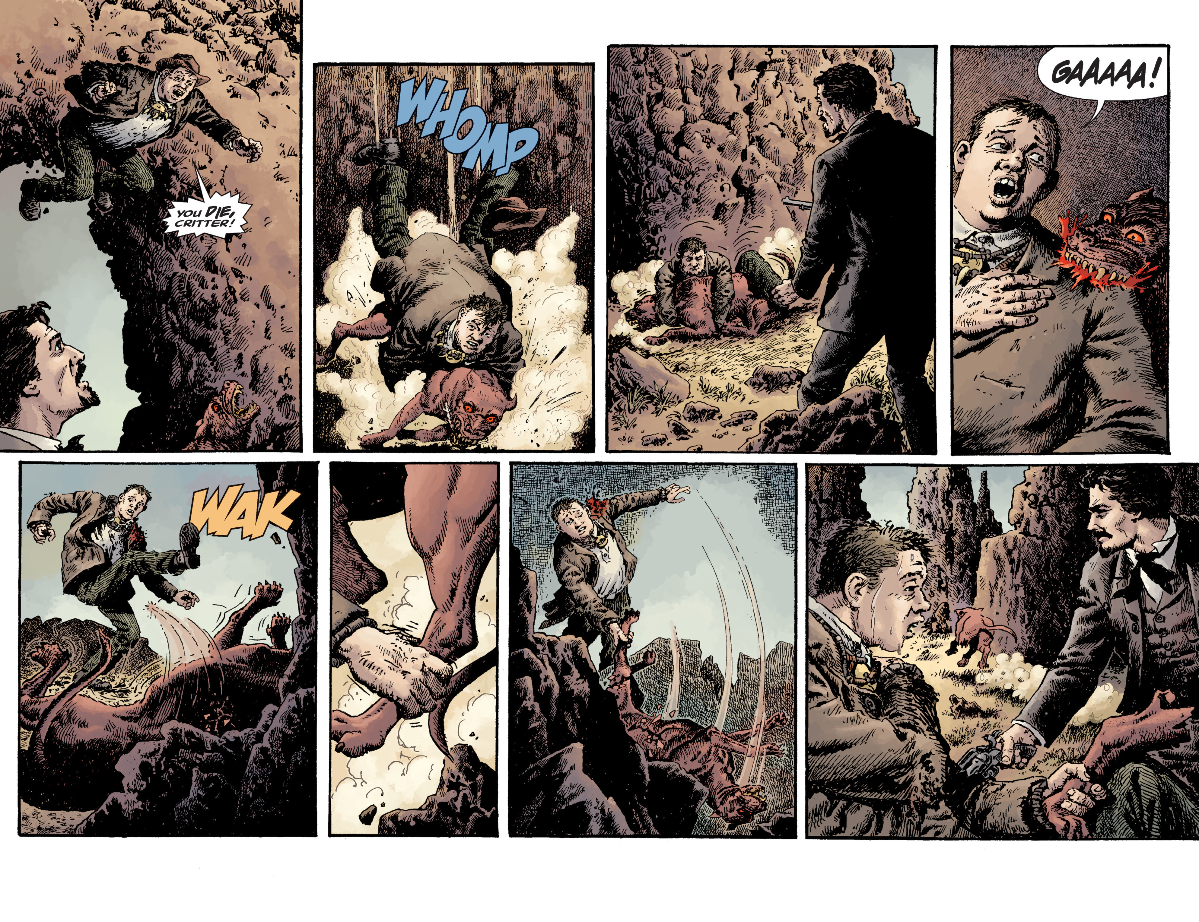 Read online Sir Edward Grey, Witchfinder: Lost and Gone Forever comic -  Issue # TPB - 67