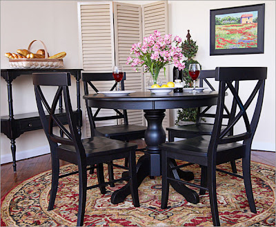 Home Decor French Country Provincial Dining Sets
