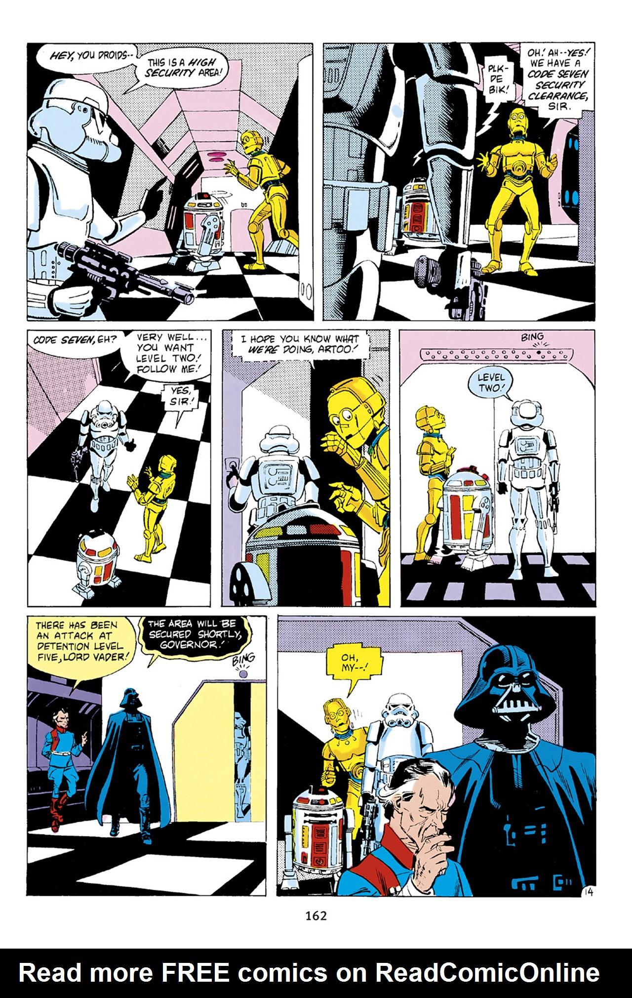 Read online Star Wars Omnibus comic -  Issue # Vol. 23 - 161