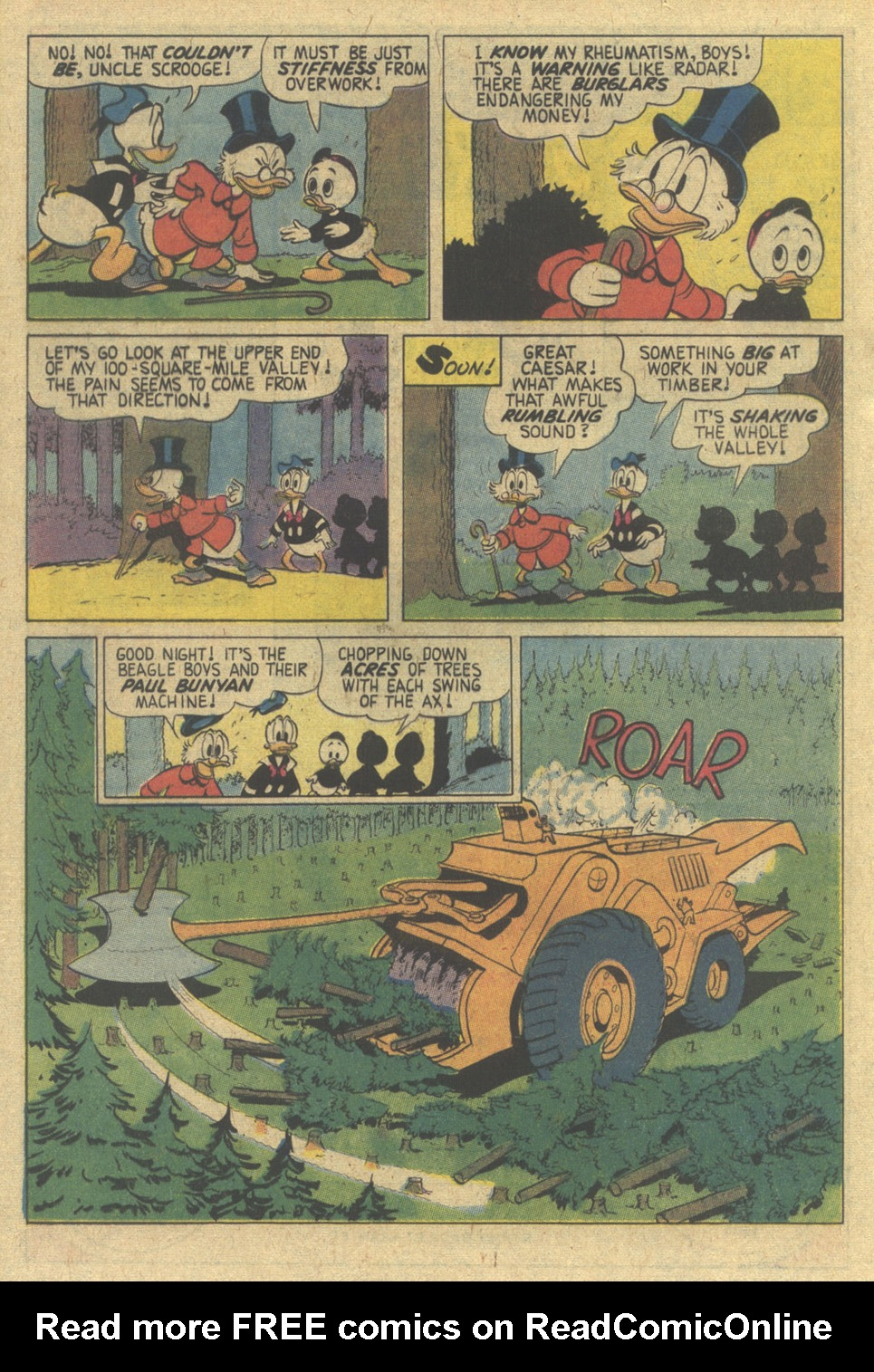 Read online Uncle Scrooge (1953) comic -  Issue #144 - 20