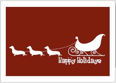 Wiener Dog Christmas Cards Part IV | Dachshund News