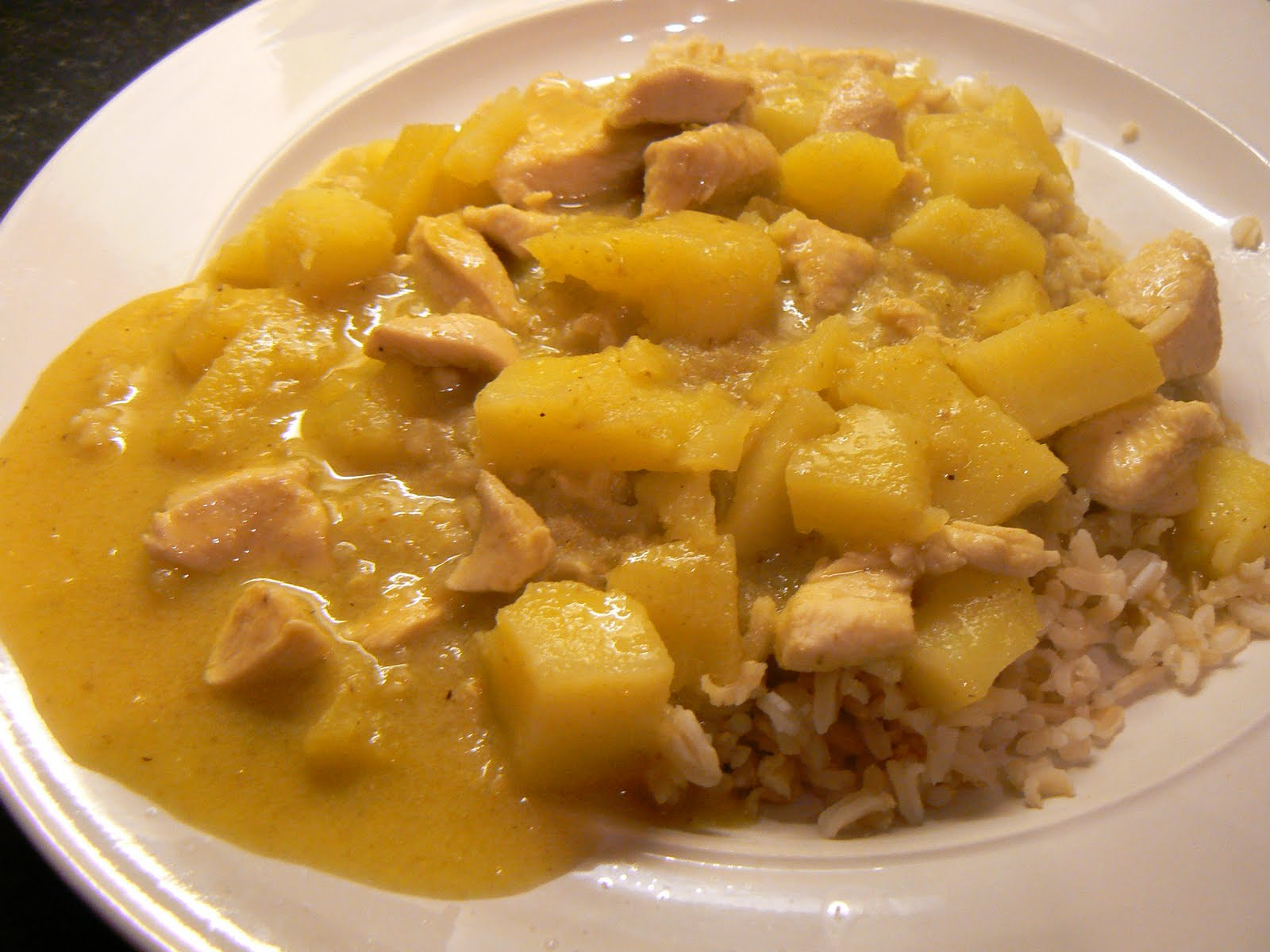 The Traveler's Table: Thai Yellow Curry Chicken