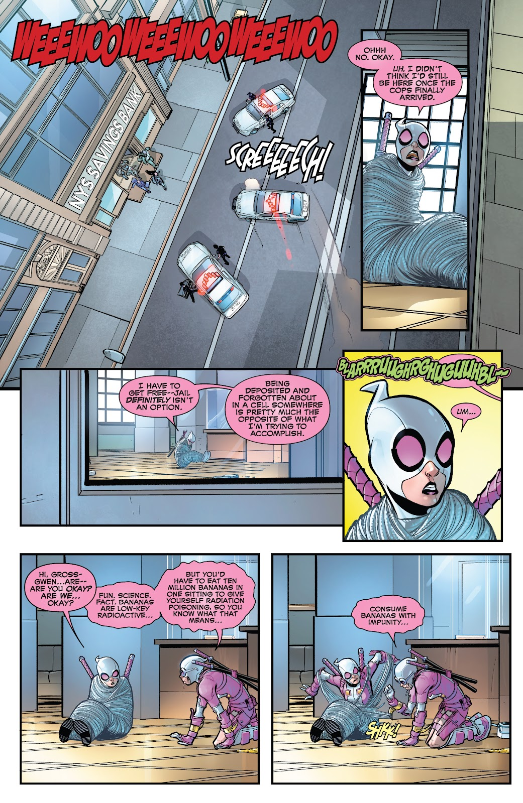 Gwenpool Strikes Back issue 1 - Page 14
