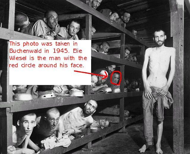 Image result for Elie Wiesel in Concentration Camp
