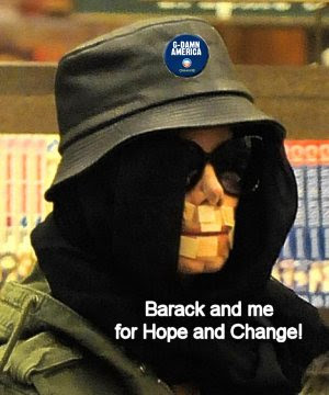 Barack chooses Michael Jackson for VP