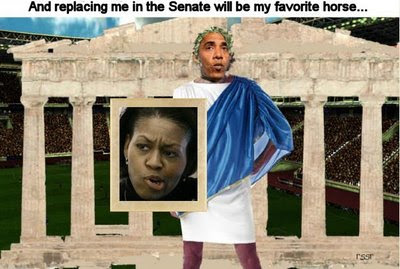 Obama thinks he is Caligula