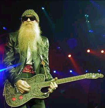 Billy Gibbons. Owner of the coolest beard in Rock