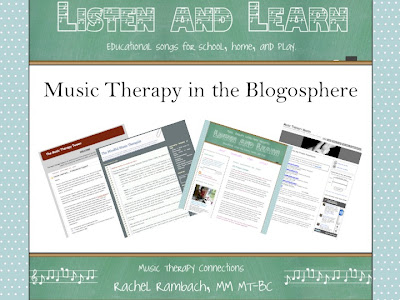 Music Therapy in the Blogosphere