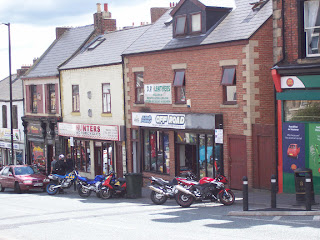 Another couple of the smaller motorbike shops
