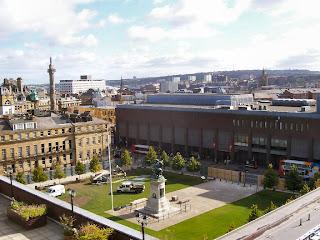 Eldon Square during the renovation