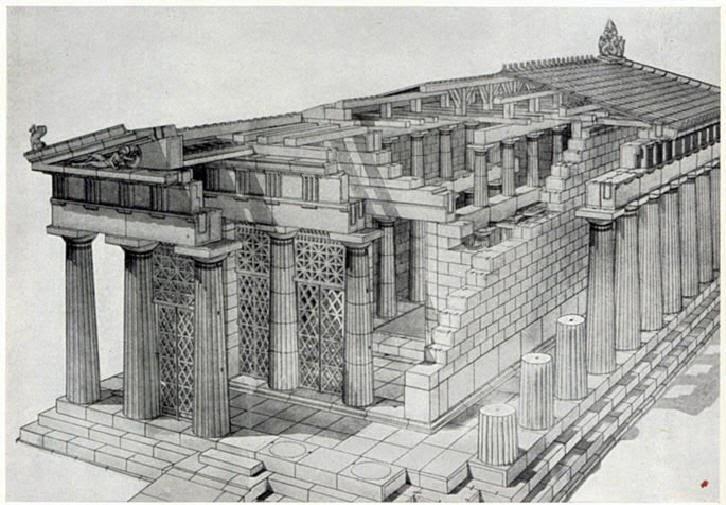 Luv 2 Go Greek Temple Architecture