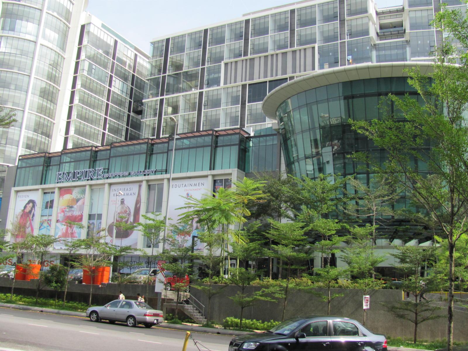 Empire Shopping Gallery -- latest shopping mall in Subang Jaya   Whatever I see. hear. read. feel. etc