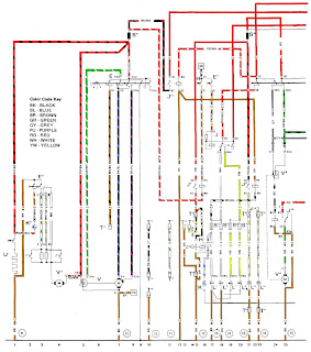volt914  Electric Porsche 914: 1975 Color Wiring Diagram