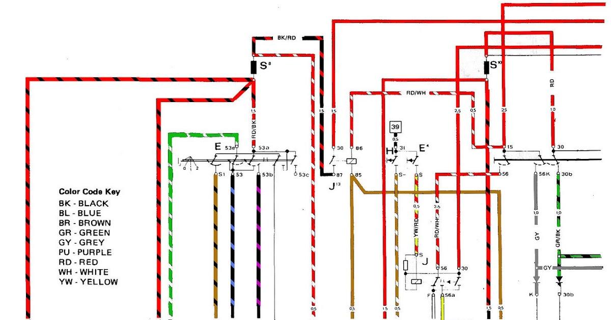 volt914  electric porsche 914 1975 color wiring diagram