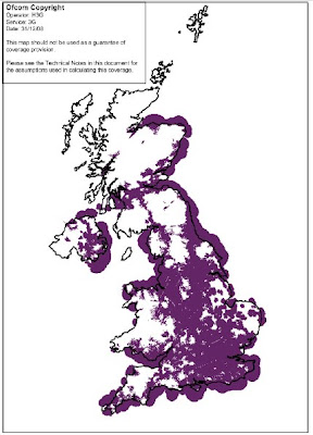 Map Of Uk 3g Coverage.The 3g4g Blog Uk Ofcom Releases 3g Coverage Maps