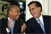 Governor Deval L. Patrick with WILLARD Mitt Romney