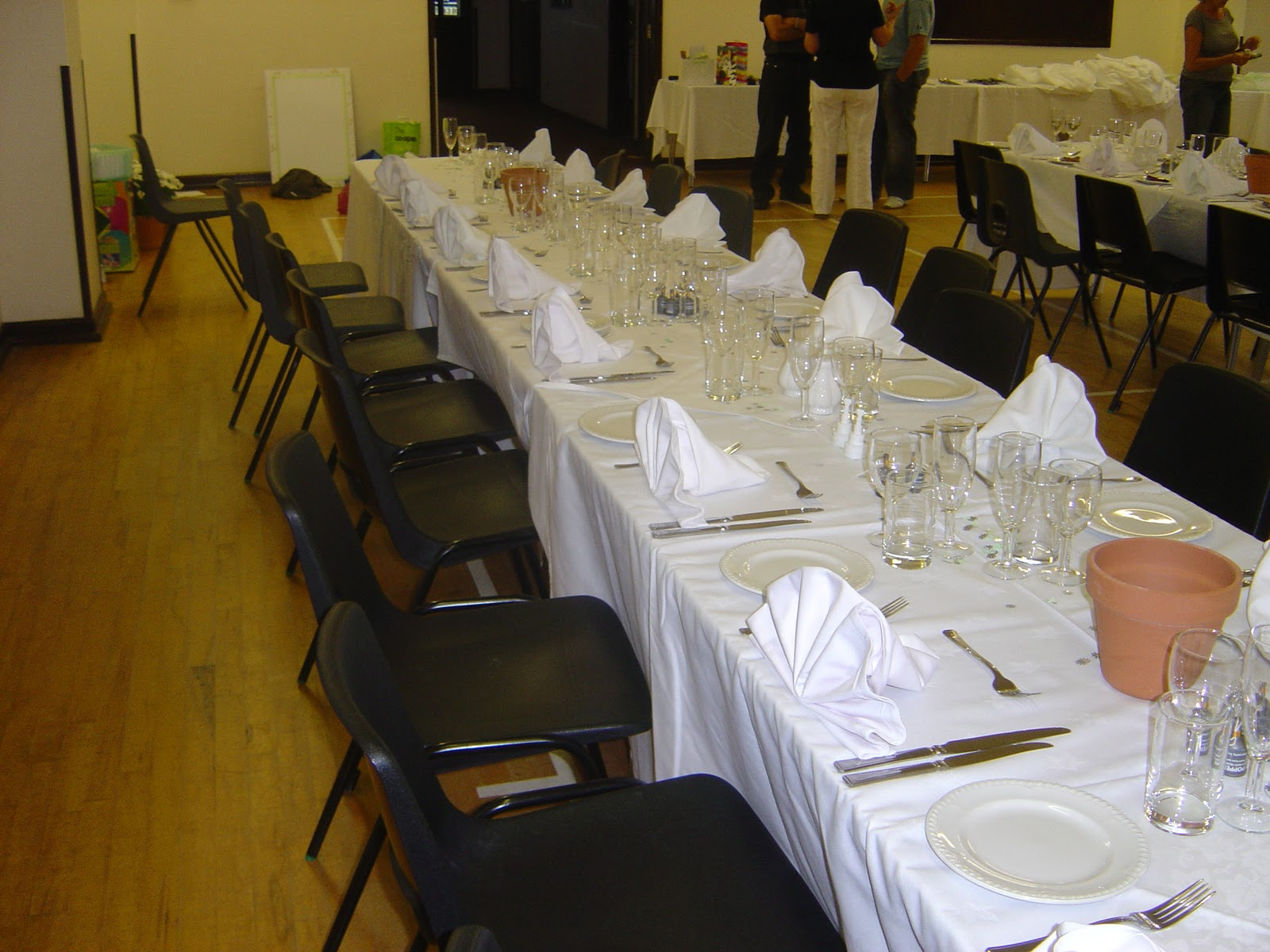 wedding chair covers devon hairpin leg all angles and venue dressing yelverton village hall