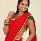 Bindu Madhavi in Half Saree Cute Photos
