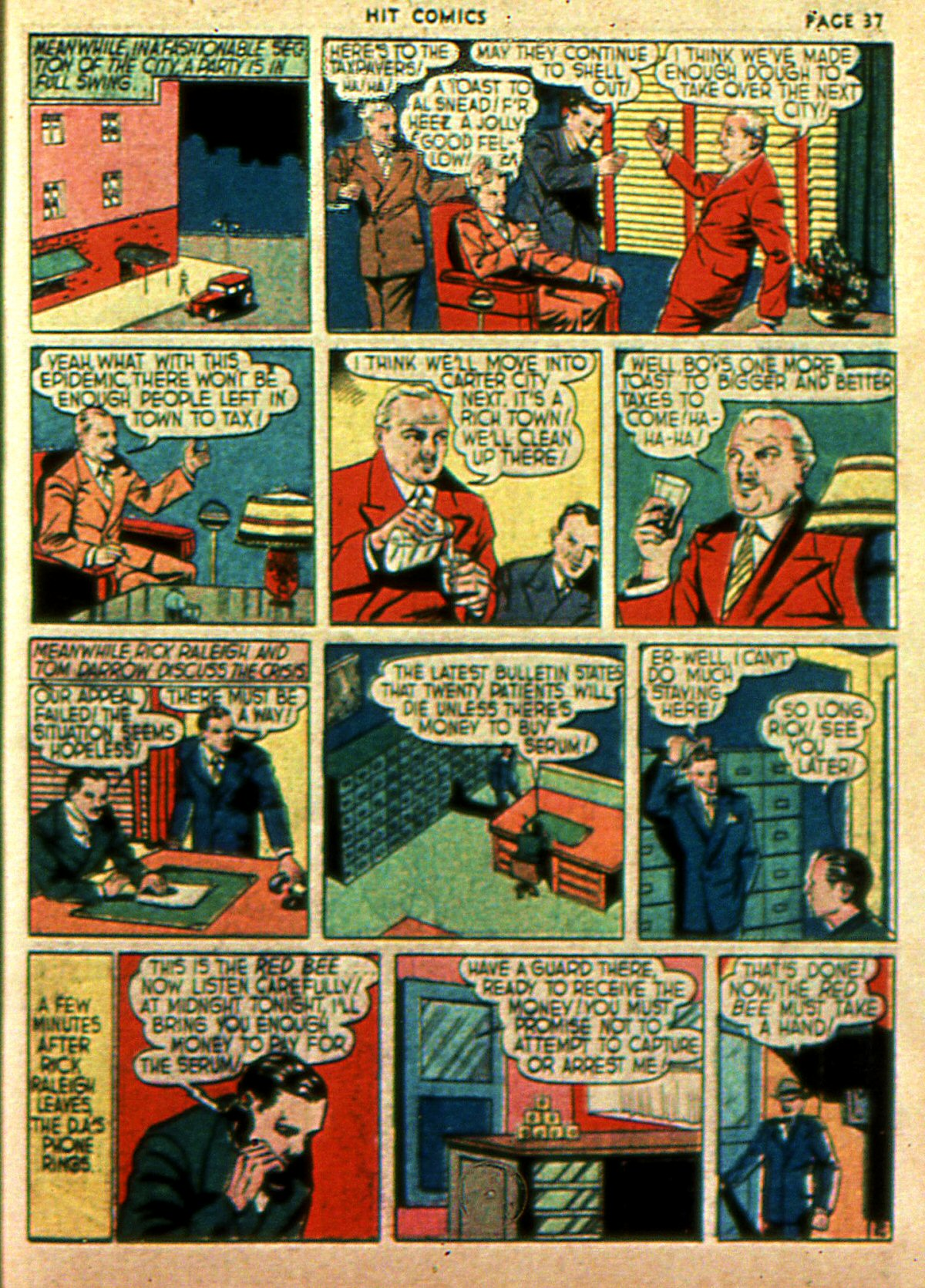 Read online Hit Comics comic -  Issue #2 - 39