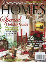 Featured in Romantic Homes Holiday 2010