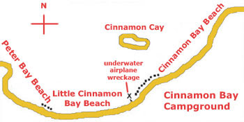 Three Cinnamon Bay Beaches