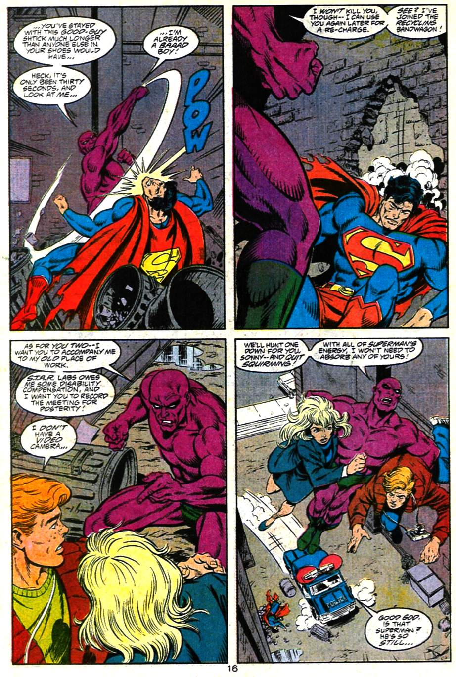 Read online Adventures of Superman (1987) comic -  Issue #482 - 17