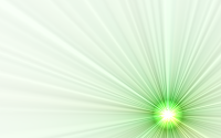 Picture of green laser beams