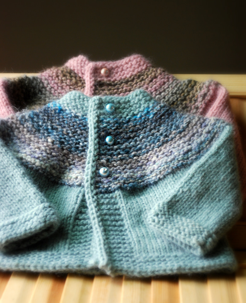 Knitting Patterns Free: Cerise Baby Sweater