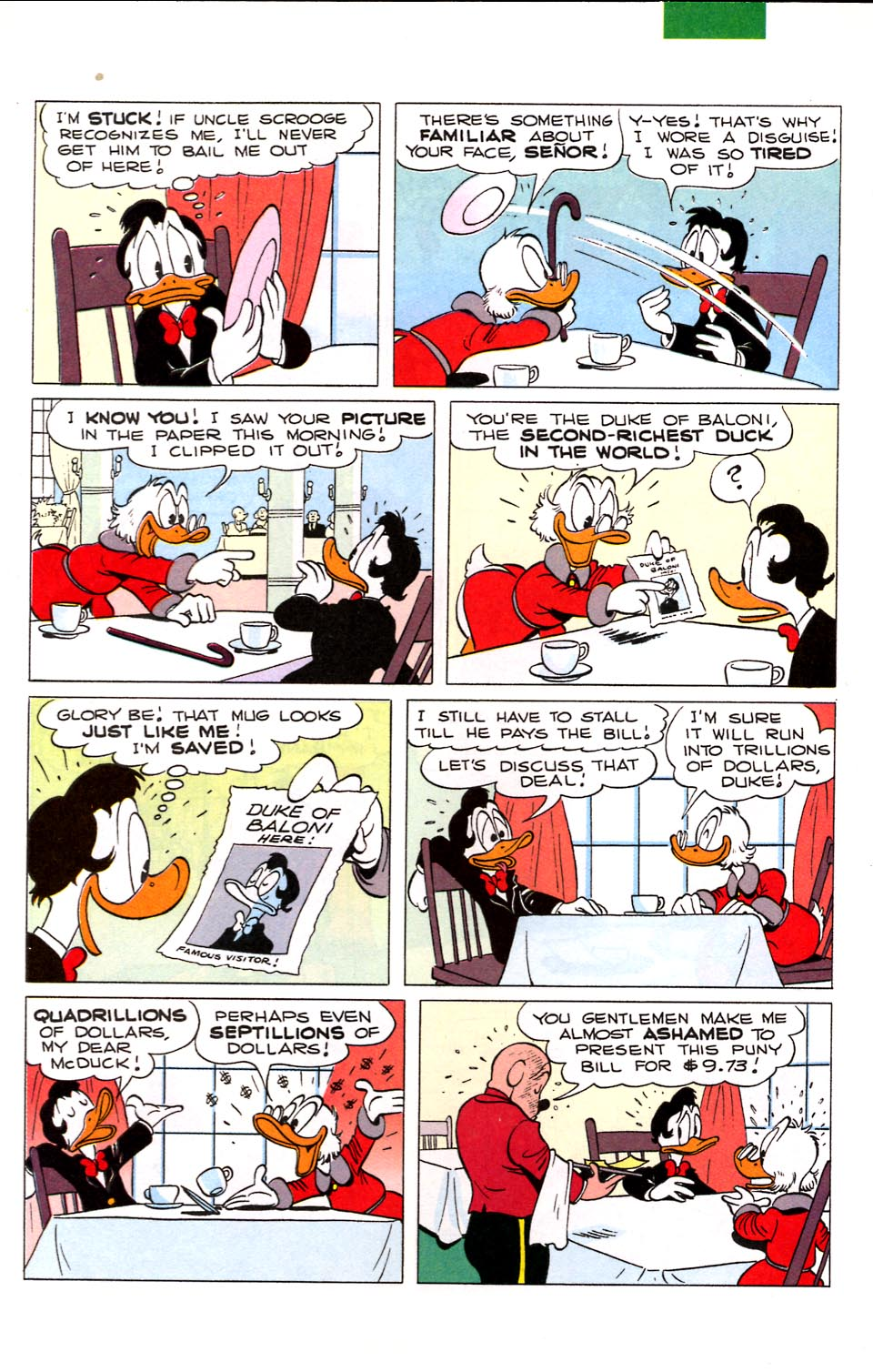 Read online Uncle Scrooge (1953) comic -  Issue #284 - 8