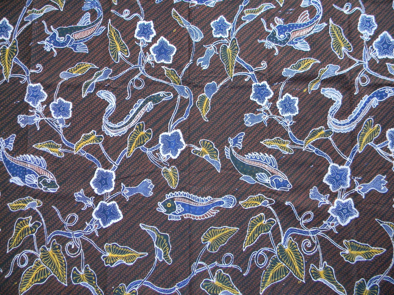 47 Gambar Ornamen Batik Flora Dan Fauna