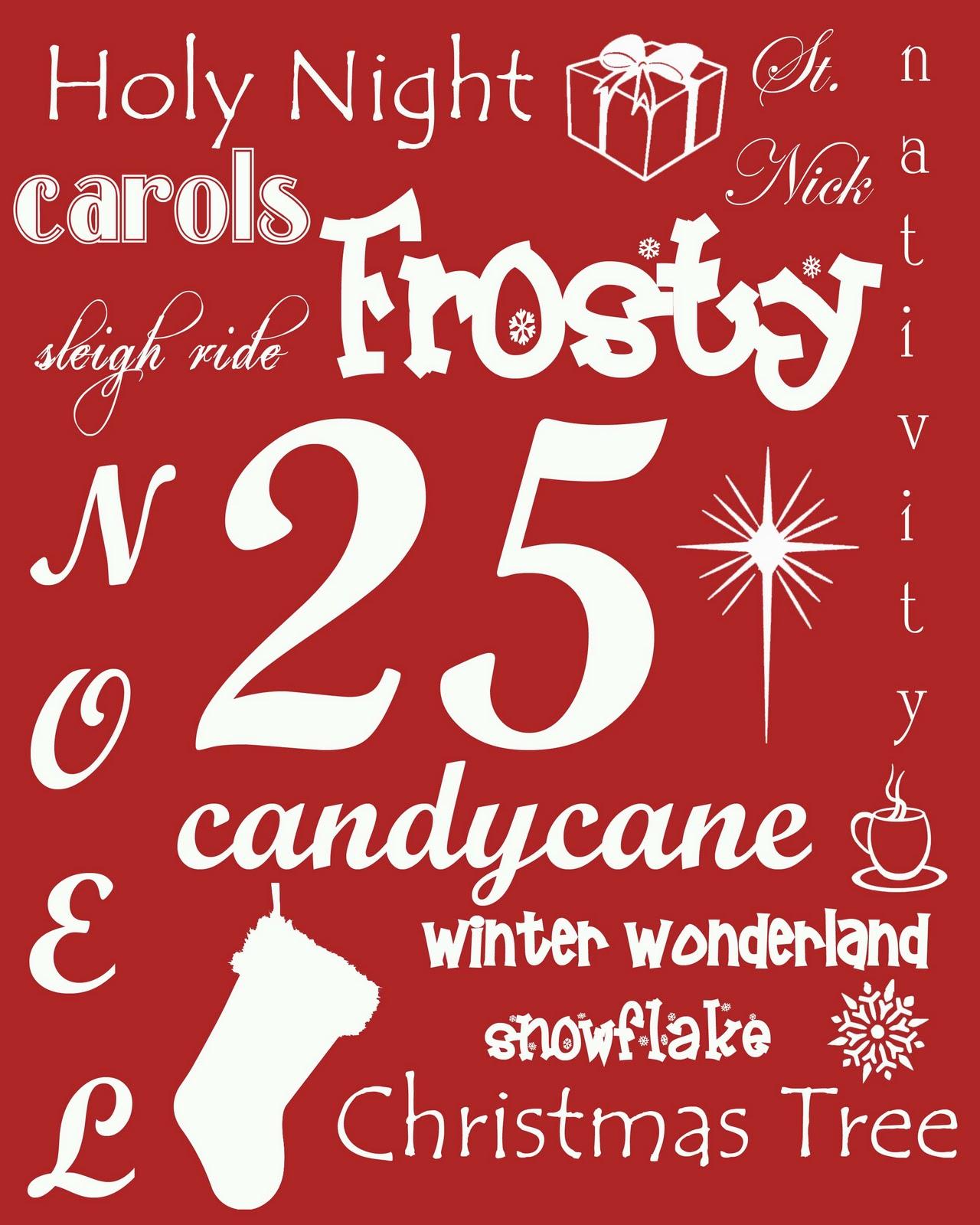 Yvonne Byatt S Family Fun Christmas Subway Art Posters