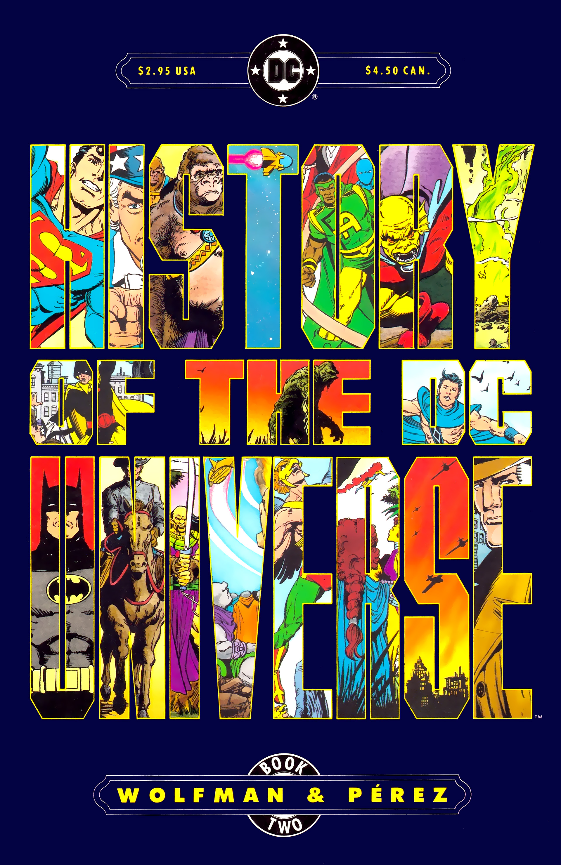 Read online History of the DC Universe comic -  Issue #2 - 1
