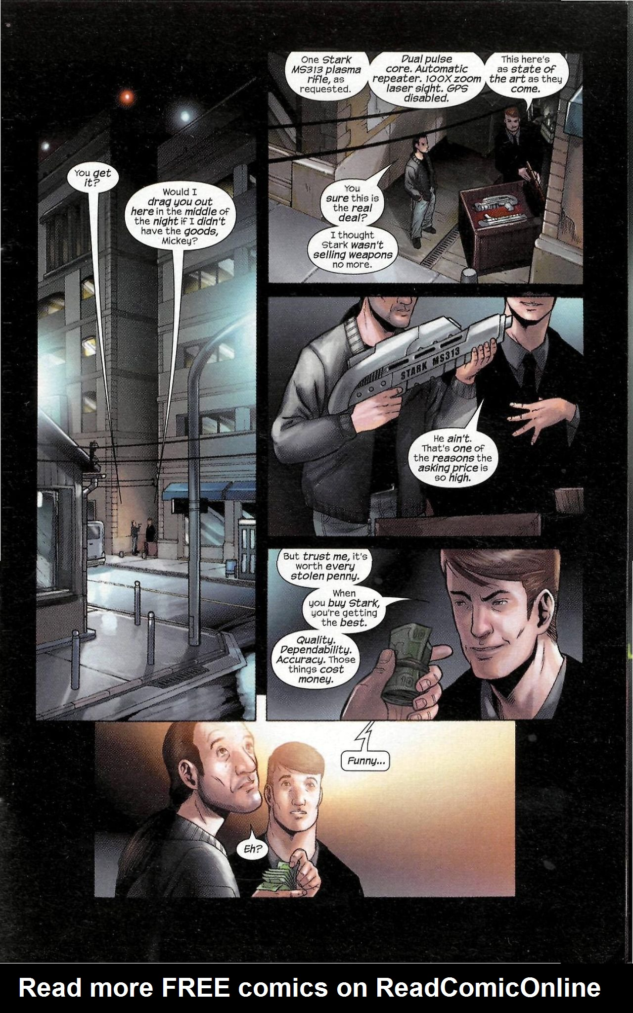 Read online Sega Iron Man Special comic -  Issue # Full - 3