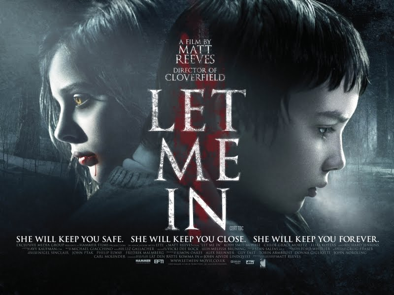 2010 Movie Posters: Let Me In Trailer