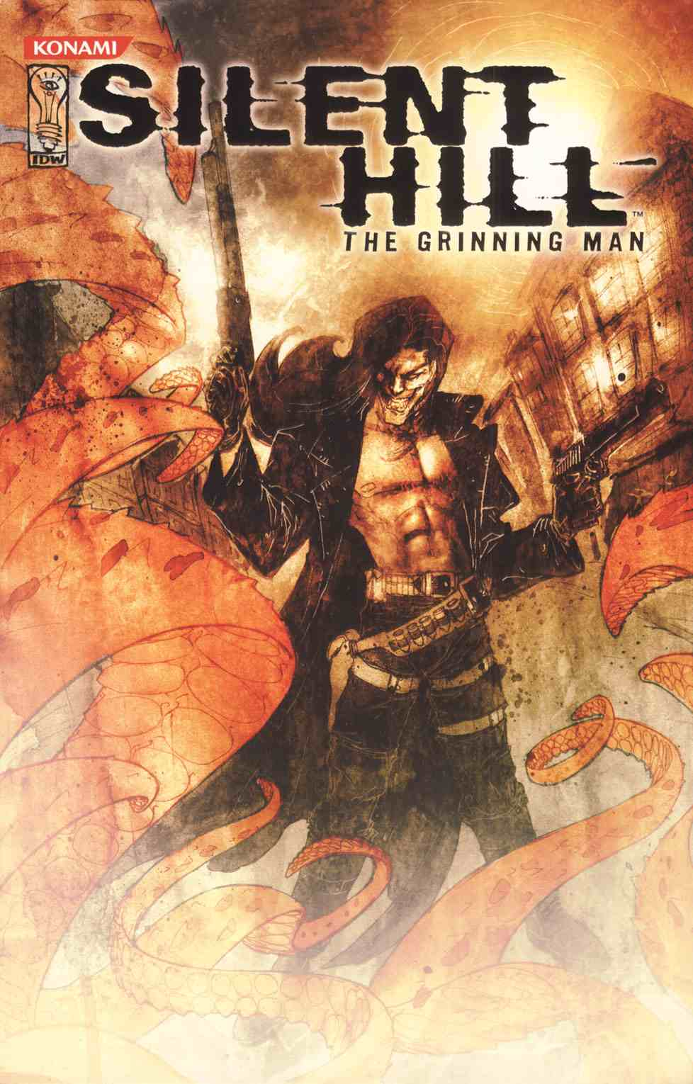 Read online Silent Hill: The Grinning Man comic -  Issue # Full - 1