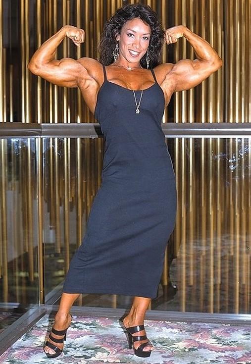 Nude Female Weightlifters