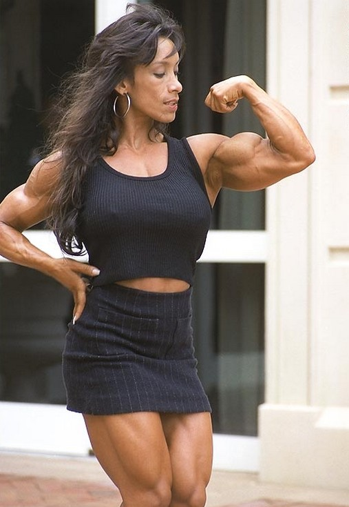 Naked Black Muscle Women
