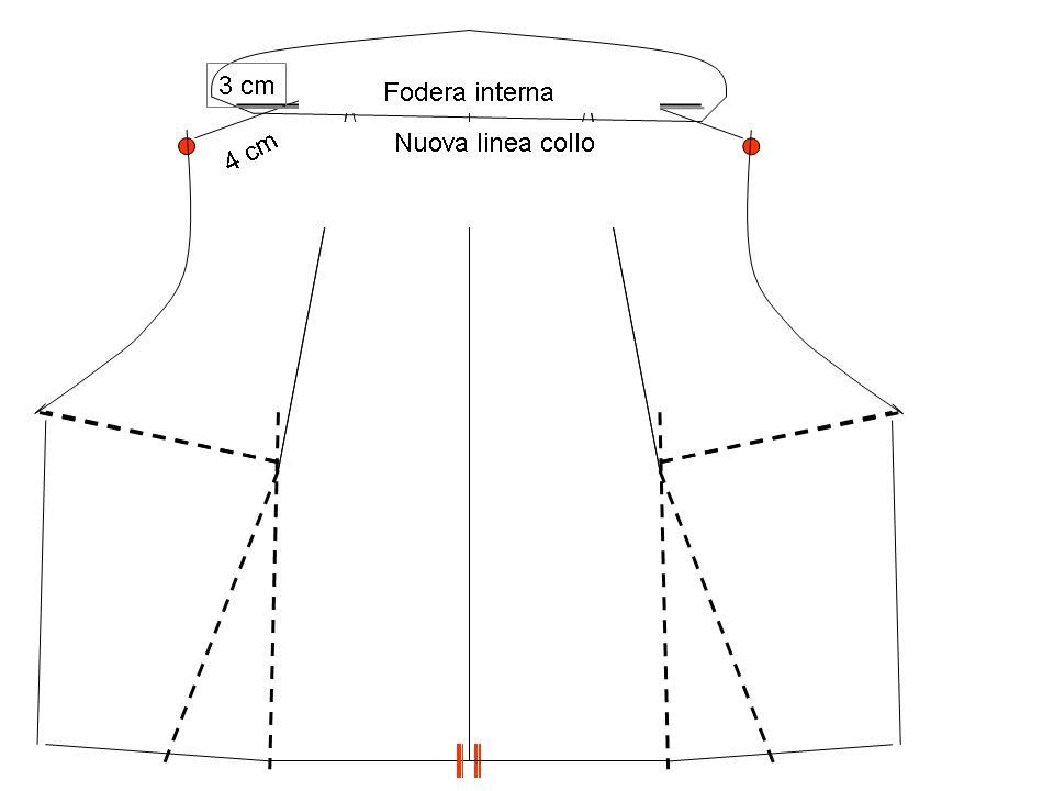 Popolare Corsi di Cucito: Il collo sciallato BL26