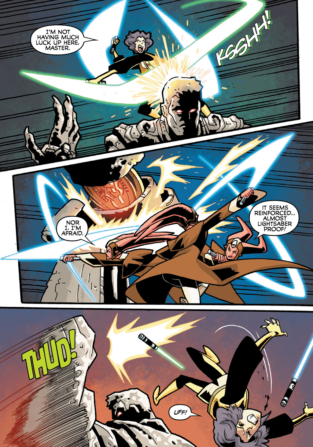 Read online Star Wars: The Clone Wars - Defenders of the Lost Temple comic -  Issue # Full - 20