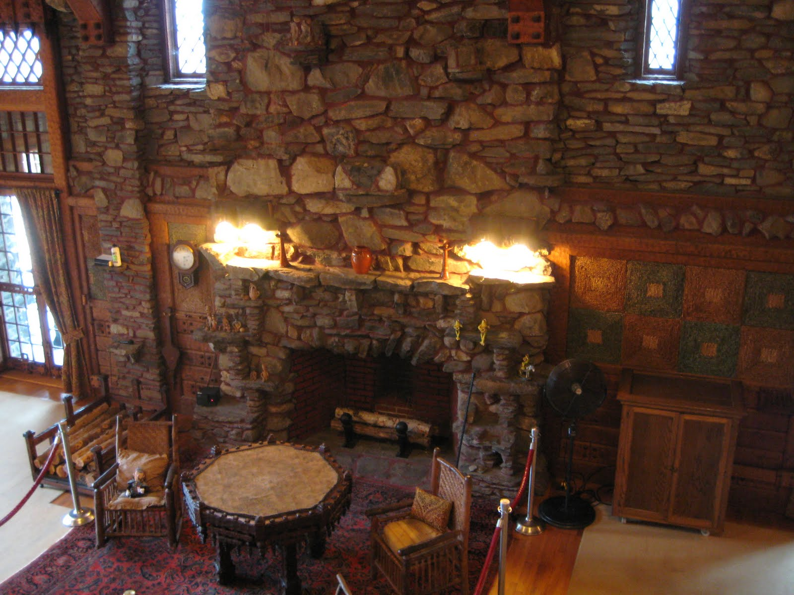 My Gillette Castle Photo Essay Stone And Furniture Inside