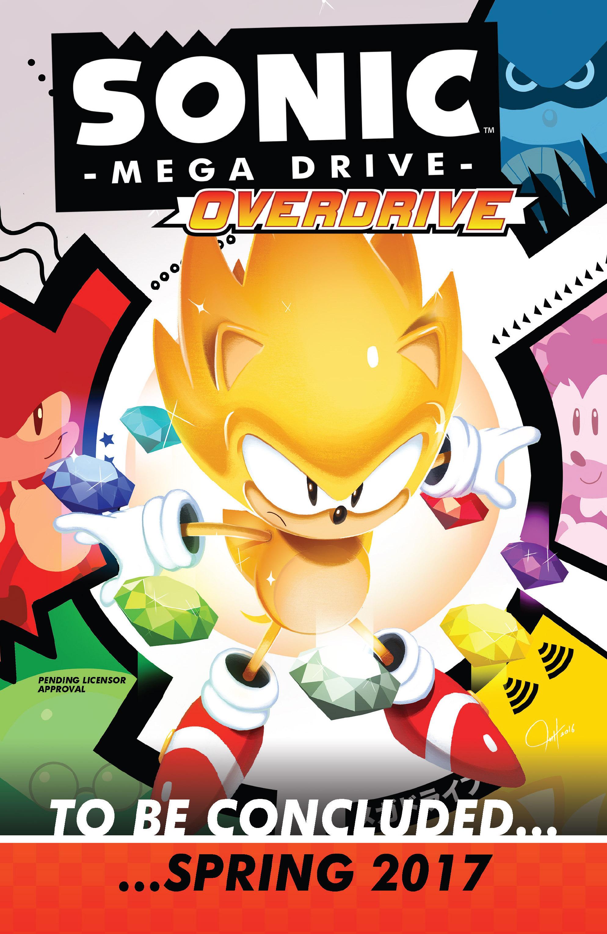 Read online Sonic Mega Drive: Next Level comic -  Issue # Full - 35